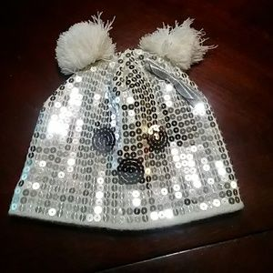 Girl's Sequinned Hat